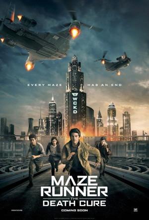 maze runner death cure poster