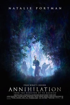 annihilation movie poster one sheet