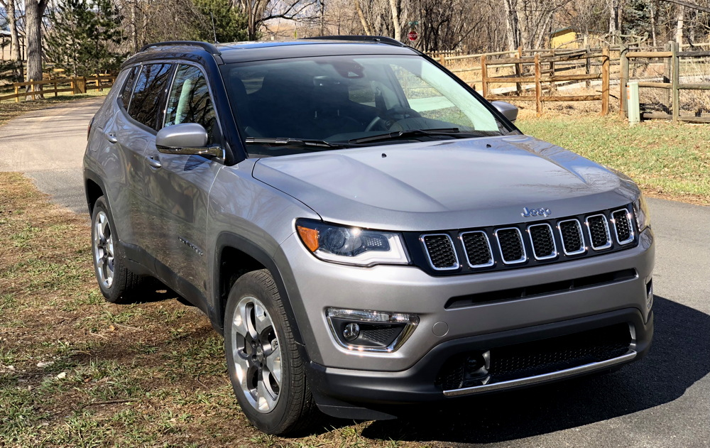 2018 jeep compass limited silver exterior