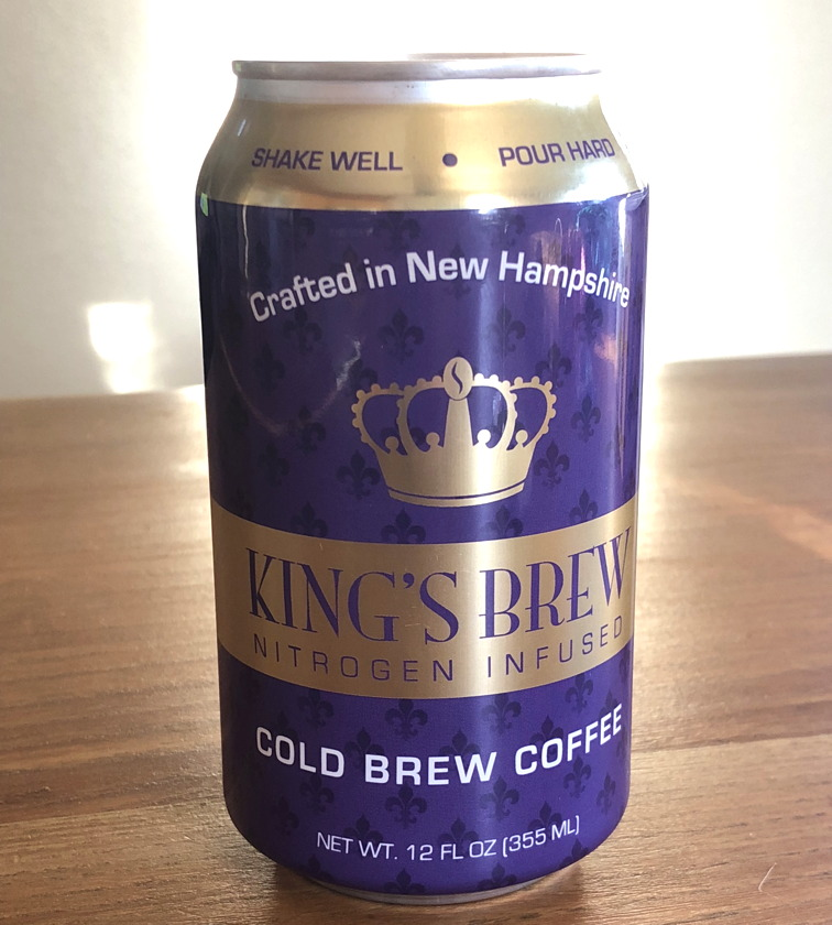 kings row coffee cold brew nitrogen can