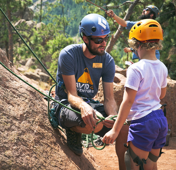avid4 adventure rock climbing camp counselor