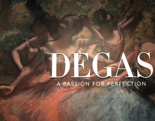 edgar degas exhibit, denver art museum, my visit tour