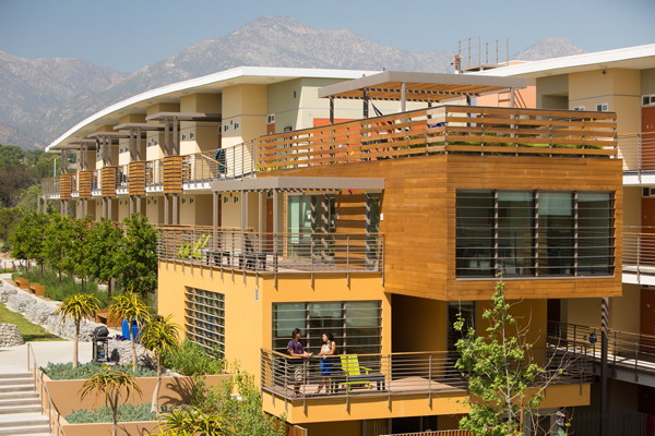 pitzer college, student housing
