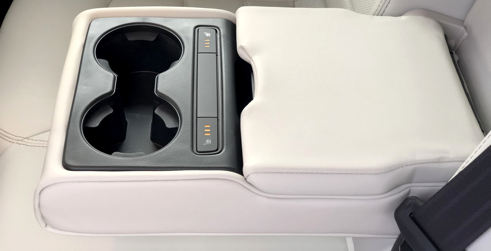 2018 mazda cx-5 rear armrest controls