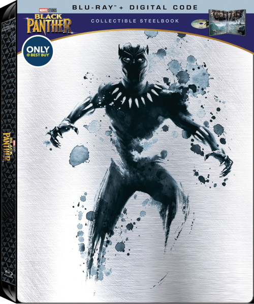black panther collectible steelbook blu-ray