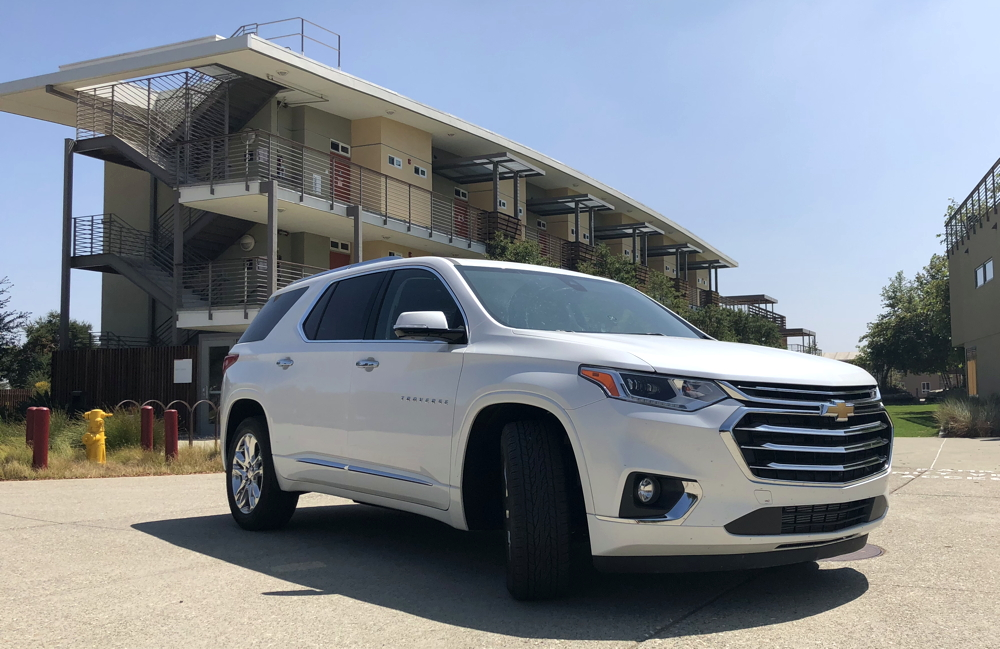 2018 chevy traverse - at pitzer college california