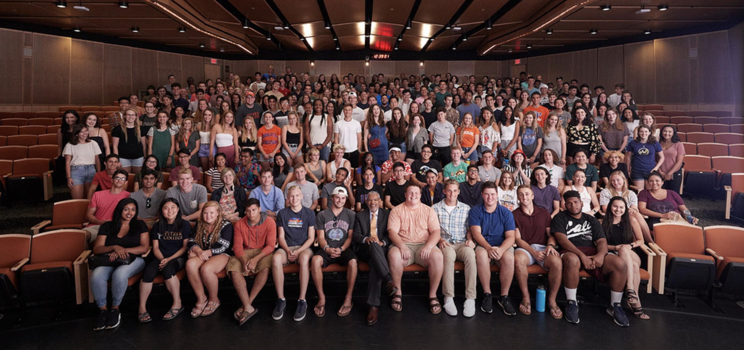 pitzer freshmen class of 2022