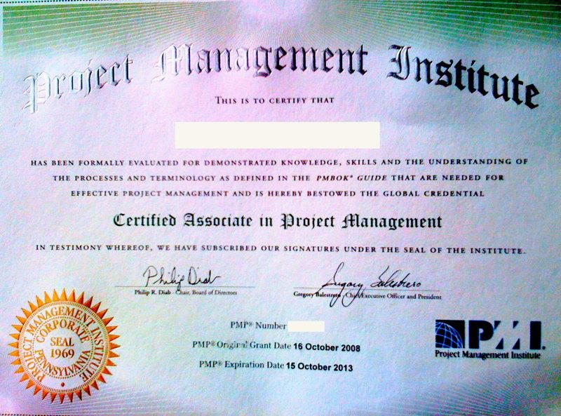 pmi certification pmp