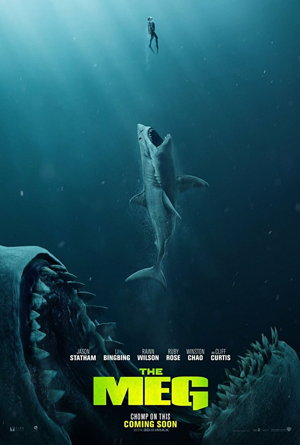 the meg movie poster