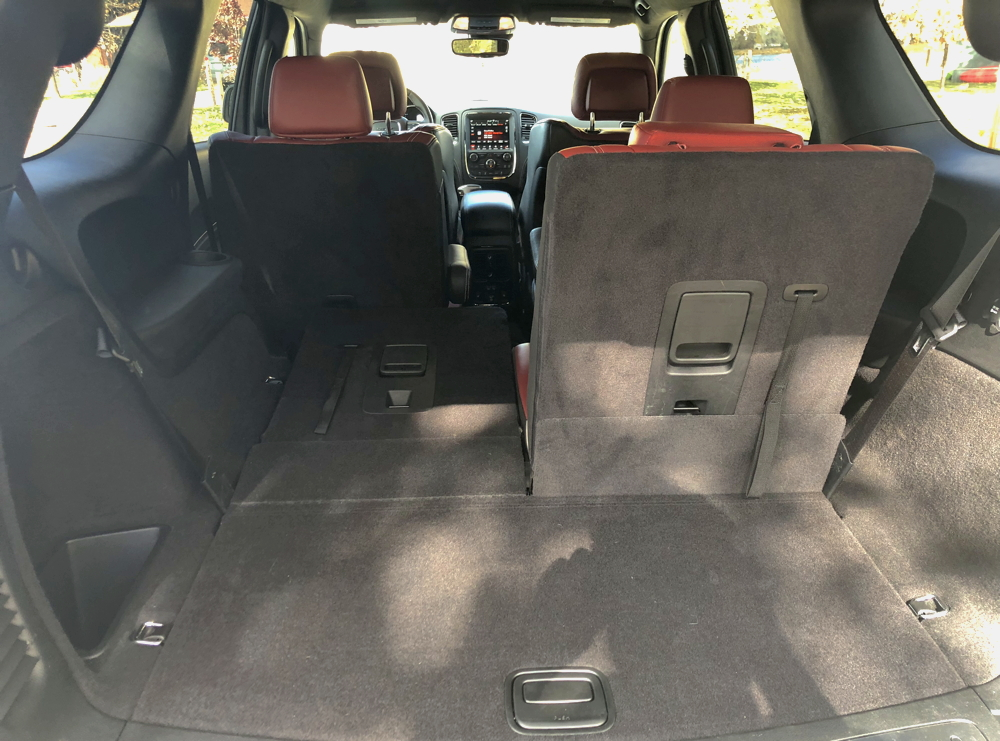 2018 dodge durango interior