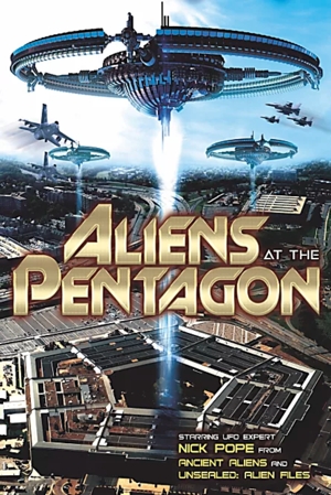 aliens at the pentagon movie poster one sheet