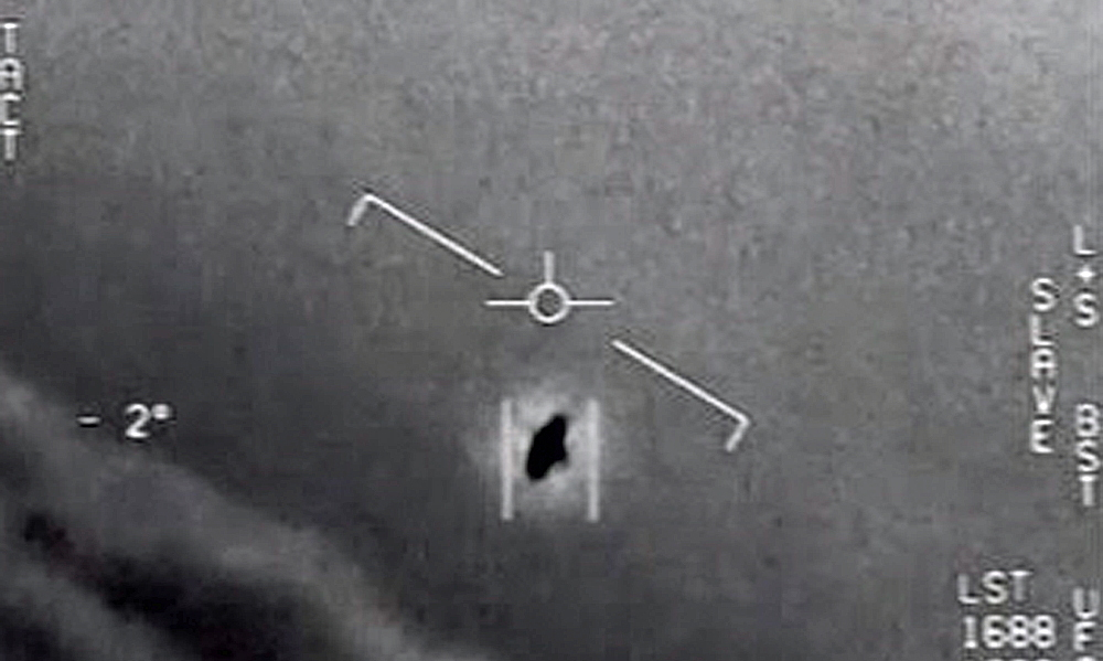 "US Air Force video identifying UFO ""GImbal"""