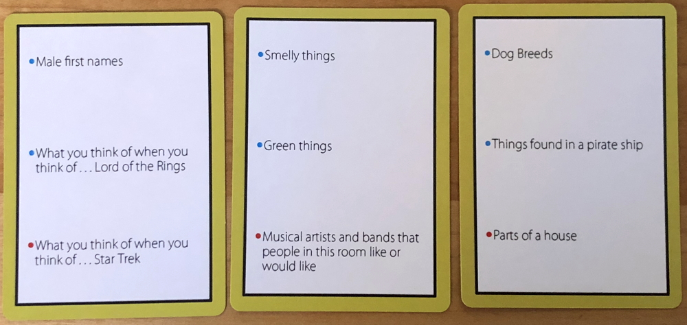 sheeple category cards