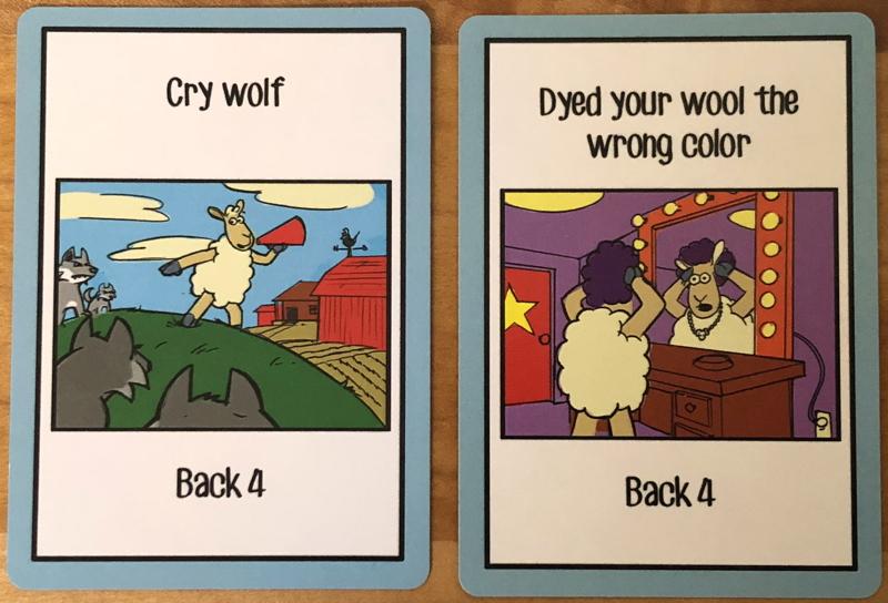 sheeple pun cards