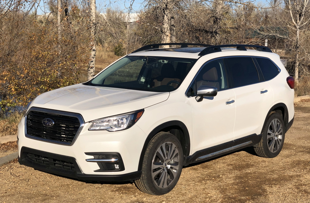 2019 subaru ascent touring exterior white