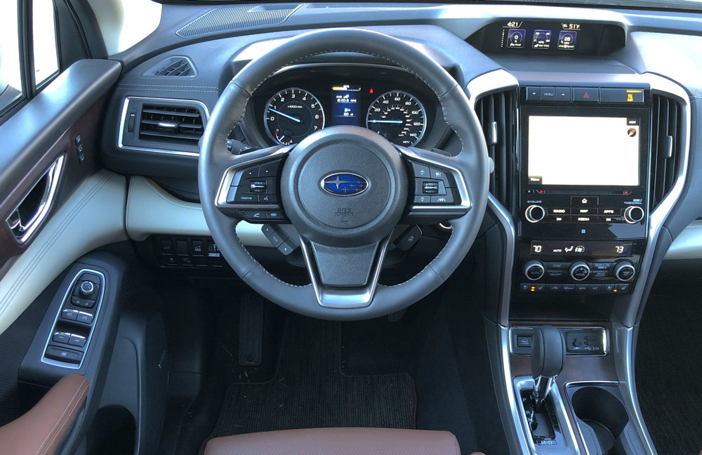 2019 subaru ascent touring front console dash
