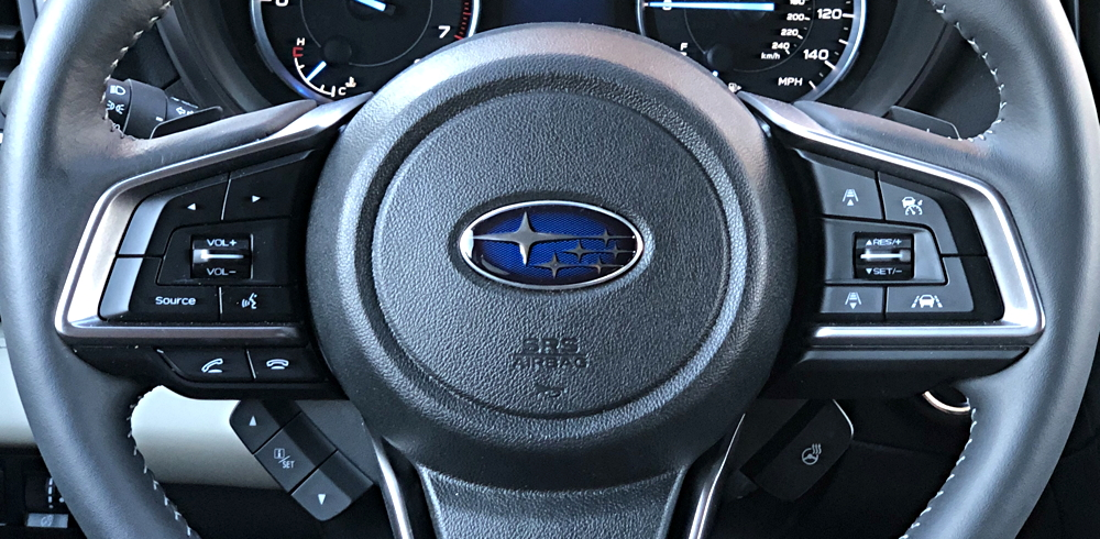 2019 subaru ascent touring steering wheel