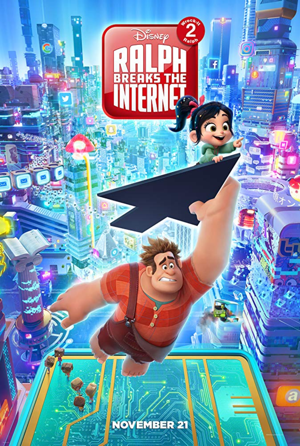 ralph breaks the internet movie poster one sheet