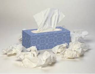 box of tissues - sick child