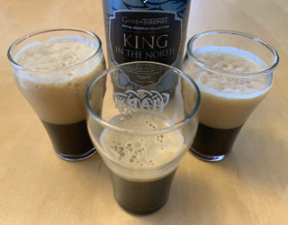 brewery ommegang game of thrones king in the north stout beer