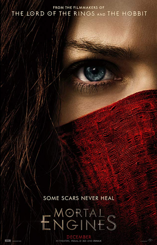 mortal engines movie film review poster one sheet