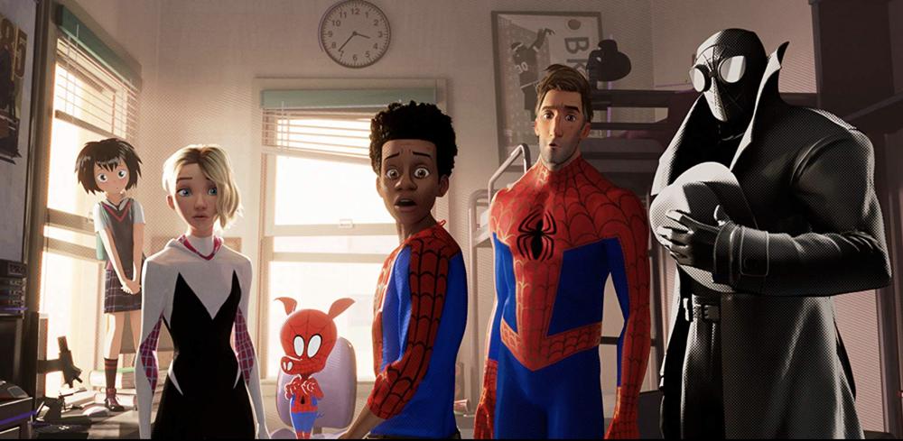spider-man: into the spider-verse still