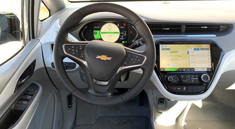 2019 bolt ev premier dashboard steering wheel controls