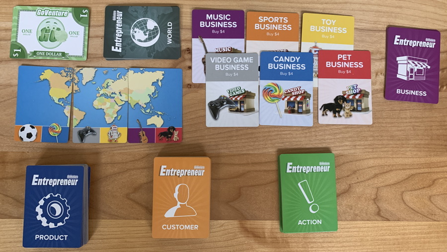 goventure entrepreneur card game review