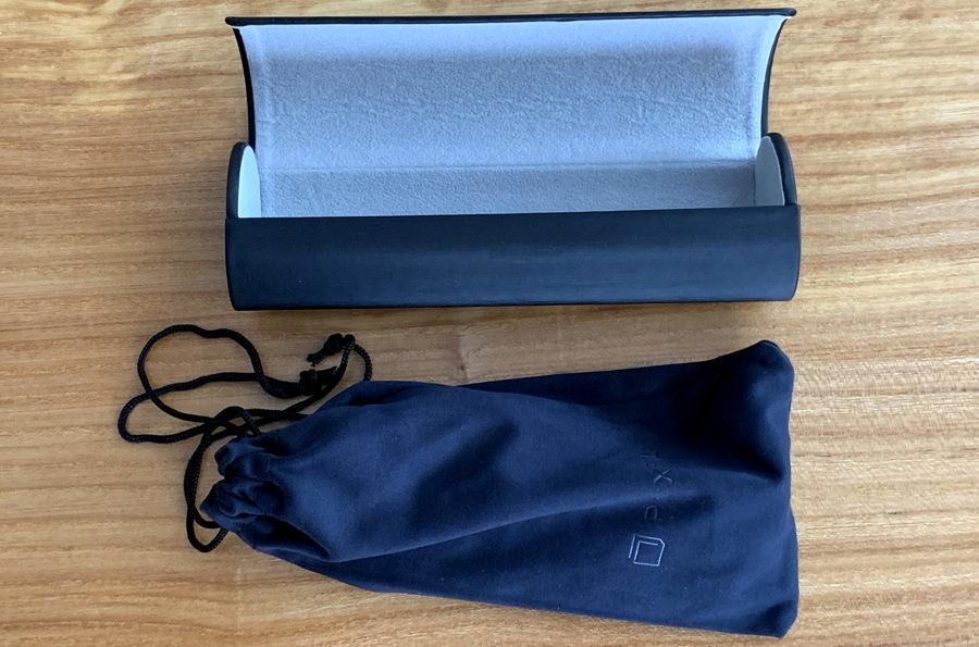 pixel eyewear case packaging