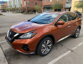 2019 nissan murano sl awd review writeup experience driving