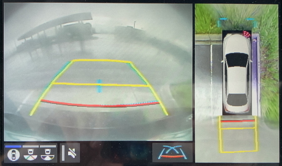 2019 toyota avalon hybrid backup camera setup
