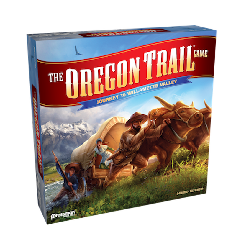 the oregon trail game - journey to willamette valley - box