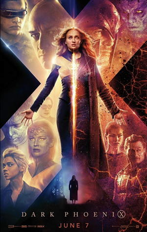 dark phoenix movie poster one sheet