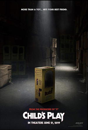 child's play 2019 movie poster one sheet