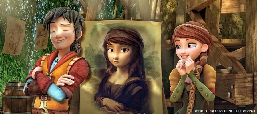 Leo da Vinci - Mission Mona Lisa - publicity still