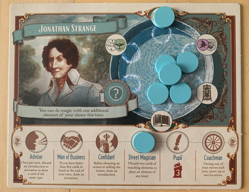 jonathan strange player board game