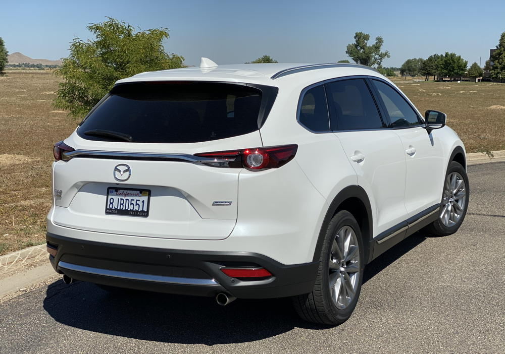 2019 mazda cx-9 signature rear view - exterior
