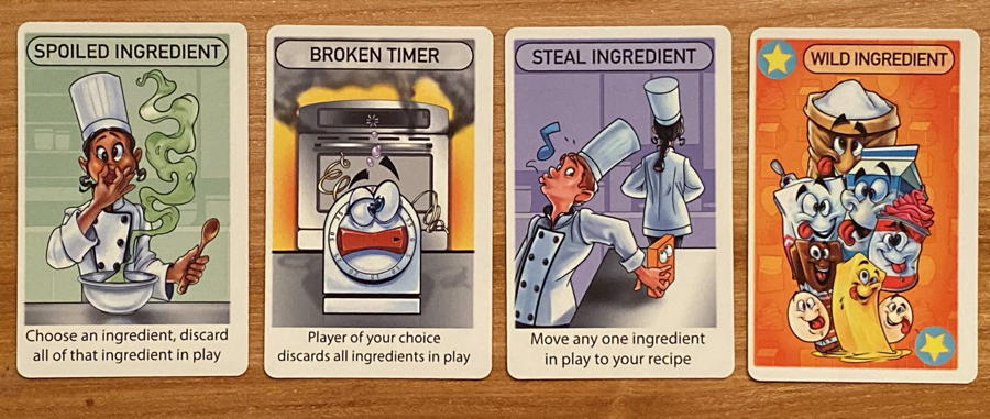 hasty baker - ingredient - strategy cards