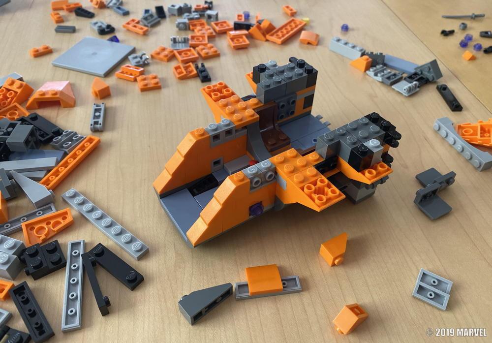 lego marvel captain america kit - parts ready to build assemble