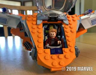 lego marvel avengers infinity war assembly kit