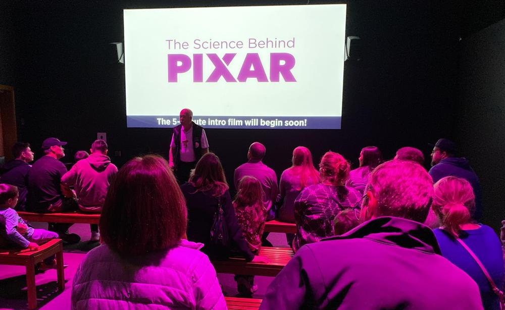 intro to the science behind pixar exhibit - dmns