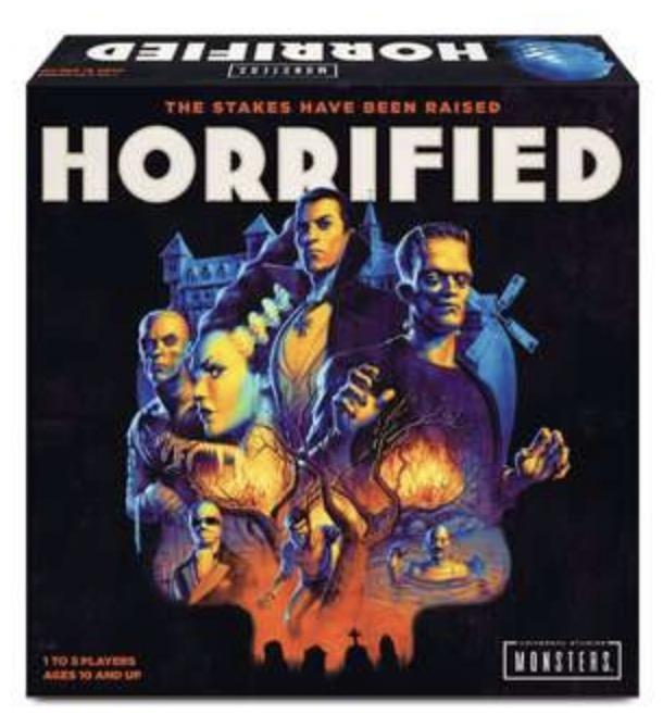 horrified board game - box