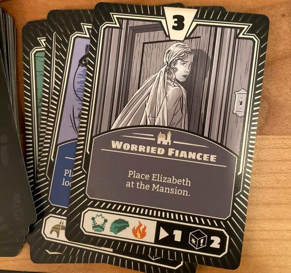 horrified board game monster cards