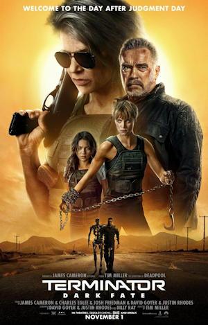 terminator dark fate movie poster one sheet