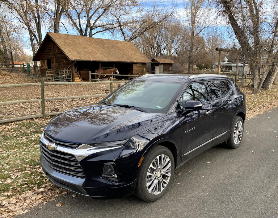 2020 Chevy Blazer - exterior front
