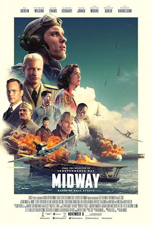 midway 2019 movie poster one sheet