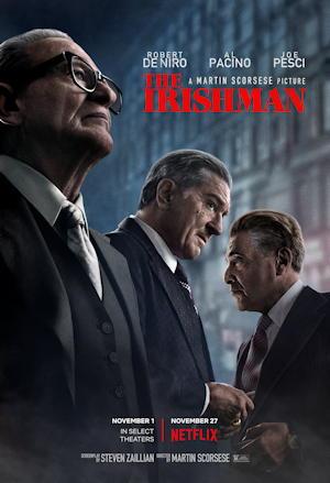 the irishman film movie poster one sheet