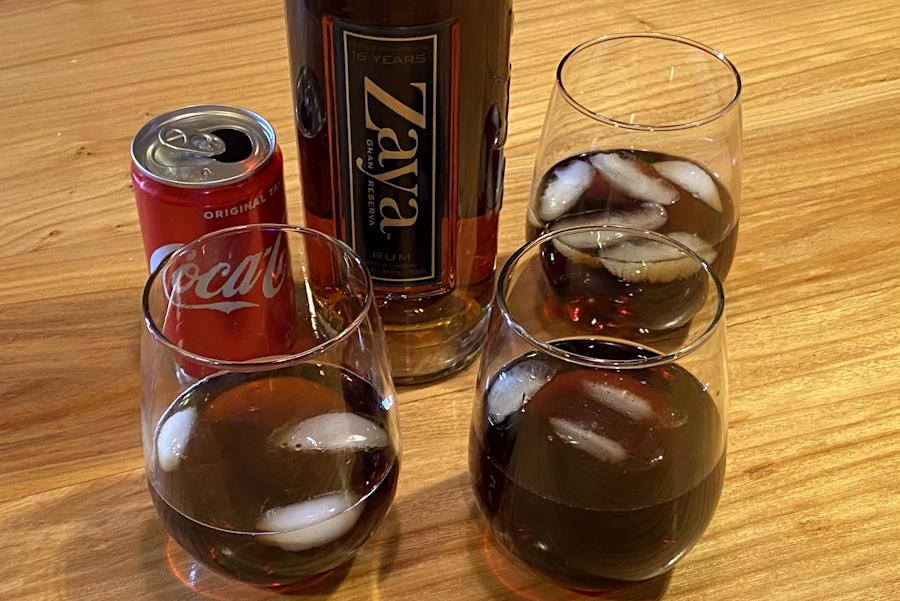 handoff liquor delivery alexa - rum & coke