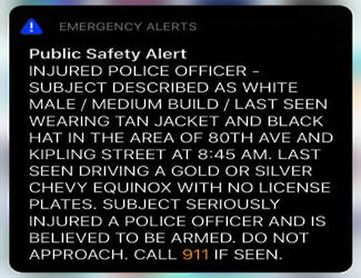 smartphone emergency government alerts: useful or waste of time
