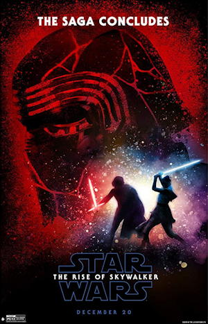 star wars rise skywalker movie poster one sheet